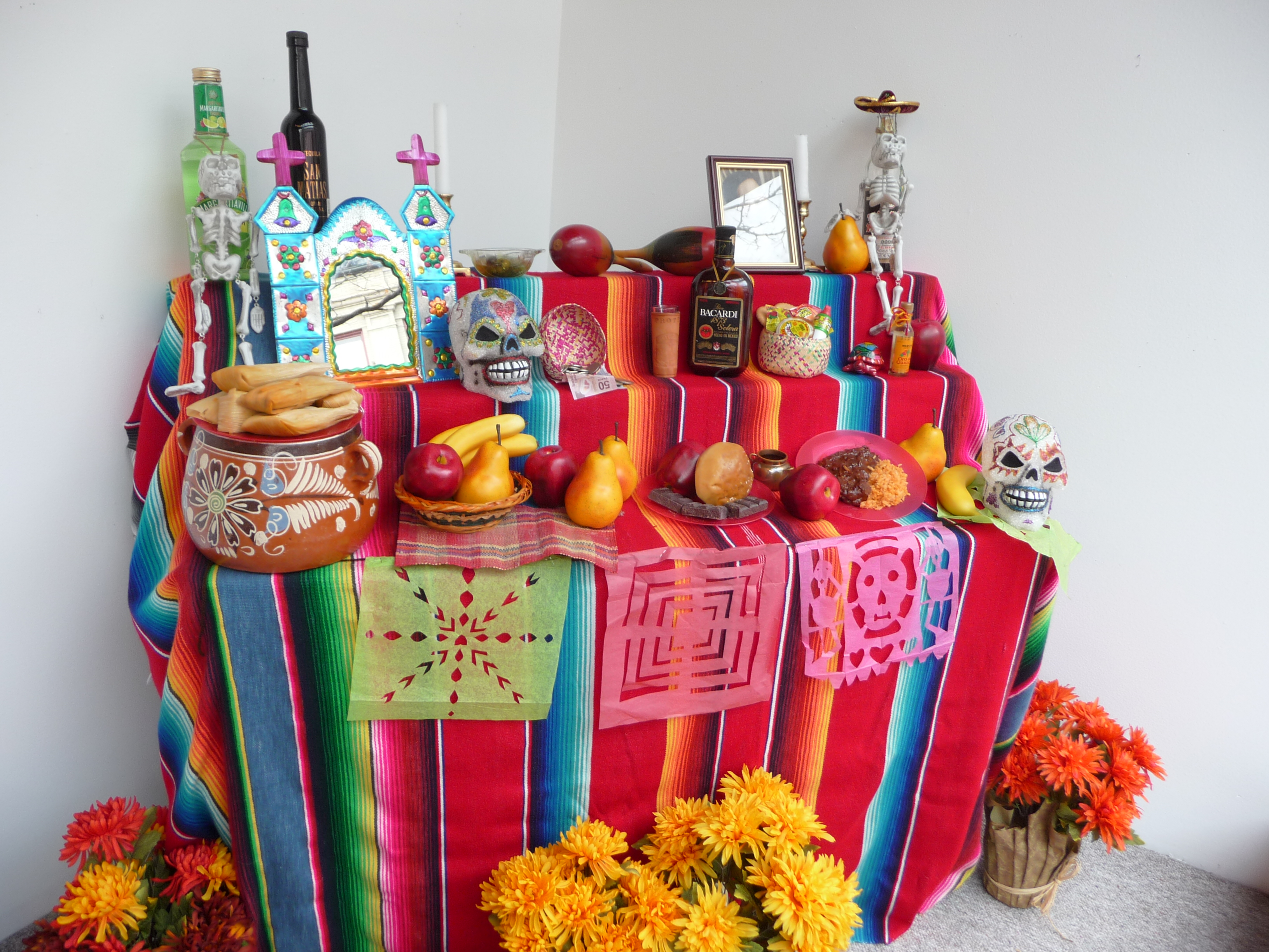 building an ofrenda the arts the arts council of the southern